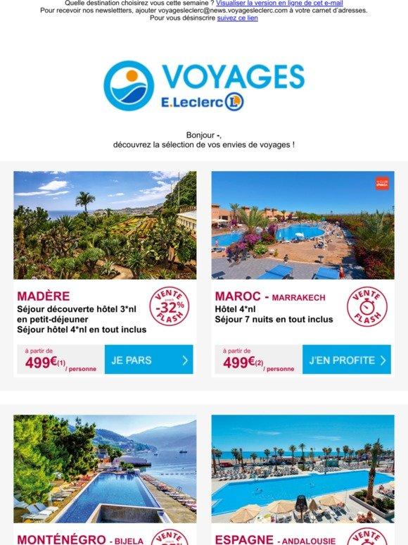 Leclerc Voyages Email Newsletters Shop Sales Discounts