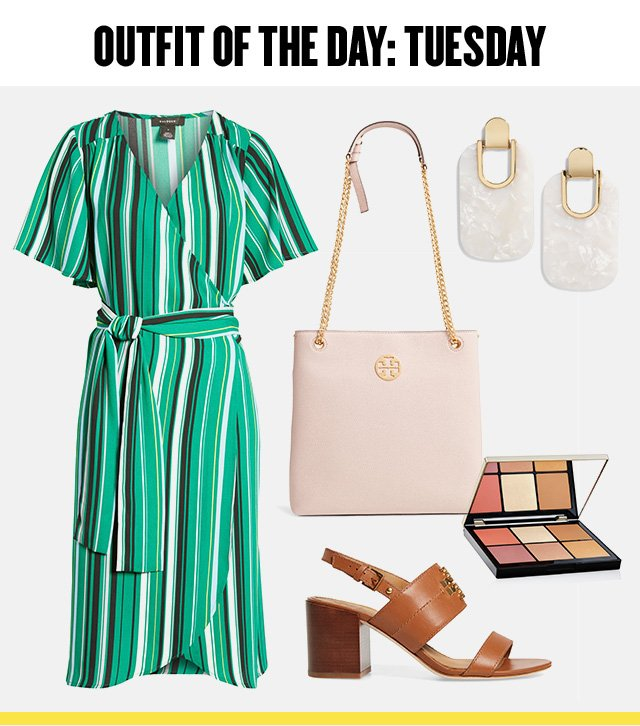 Anniversary Sale outfit of the day: a summer Tuesday.