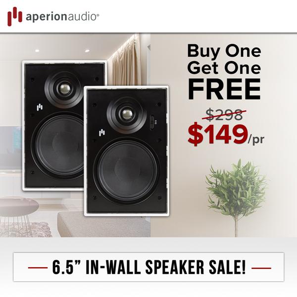 Aperion Audio: Verus Flash Sale & New Blogs | Milled