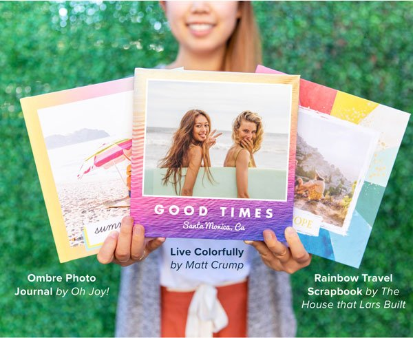 NEW Summer Photo Book Themes