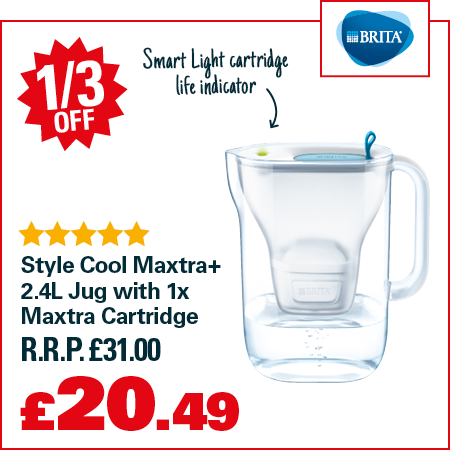 Robert Dyas UK: Big Brands Mega Sale | Up to 1/3 off Water