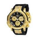 Invicta Subaqua Mens Quartz 55.45 mm Gold, Black Case Black, Gold Dial