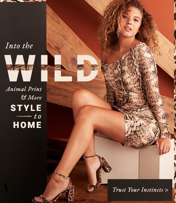 Spotted: Animal Print & More Style to Home.