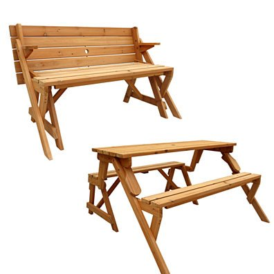 Convertible Picnic Table & Garden Bench