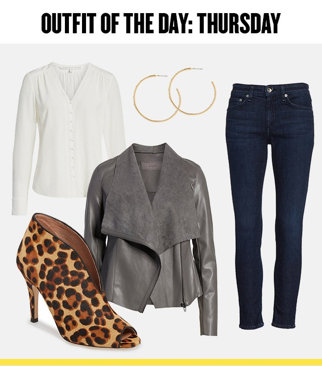 Outfit of the day: Thursday. Women's clothing, shoes and accessories at Anniversary Sale.