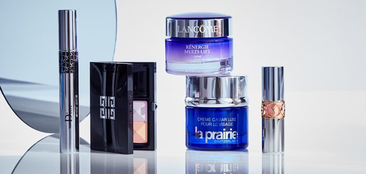 Our Luxe Beauty Counter: La Prairie to YSL for Women & Men