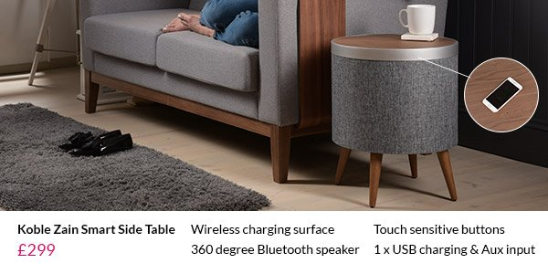 Cuckooland New Smart Furniture Introducing Koble Milled