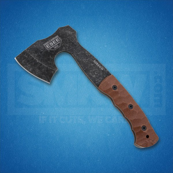 ESEE GIBSON AXE 1095 STEEL CONSTRUCTION MICARTA HANDLE