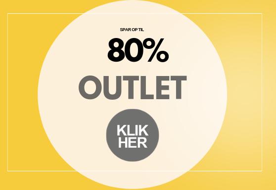 Outlet Spar op til 80%