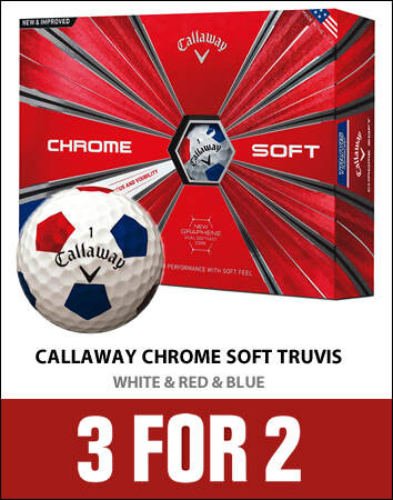 Callaway Truvis White/Red/Blue