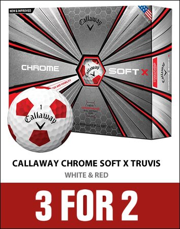 Callaway Truvis X White/Red