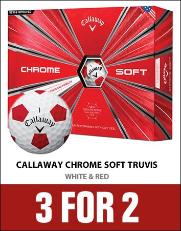 Callaway Truvis White/Red