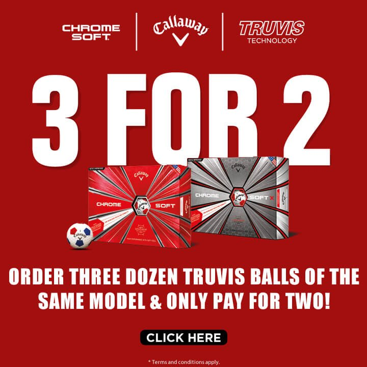Callaway Chrome Soft Truvis Promotion - Shop Now