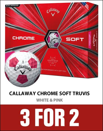Callaway Truvis White/Pink