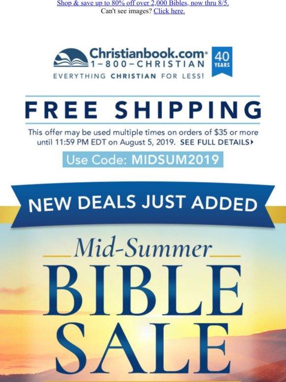 CHRISTIANBOOK COM FREE SHIPPING