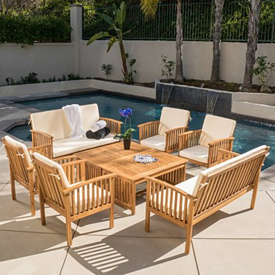 Beckley 8pc Outdoor Sofa Seating Set