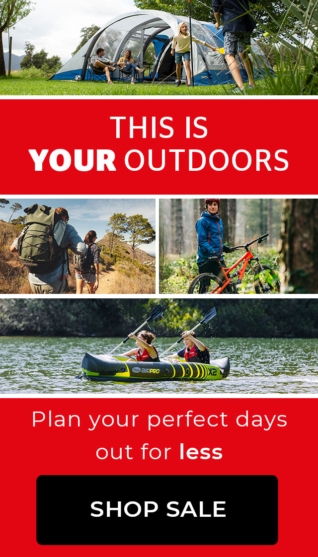 THIS IS YOUR OUTDOORS - SHOP SALE