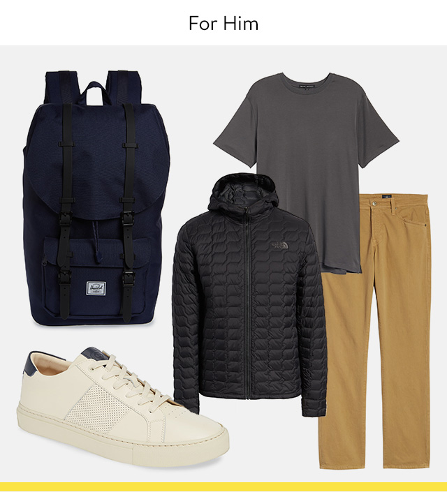 Outfit of the day for him: Saturday.