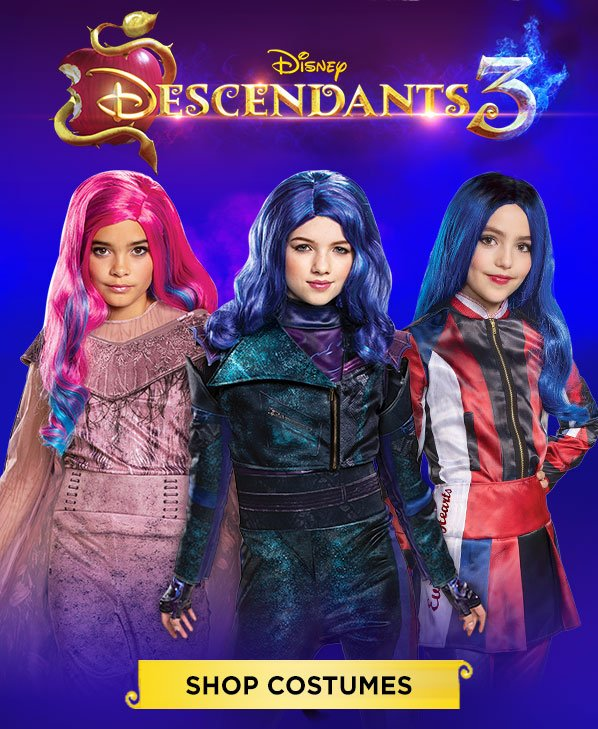 Spirit Halloween: The Descendants are BACK! Take 20% OFF