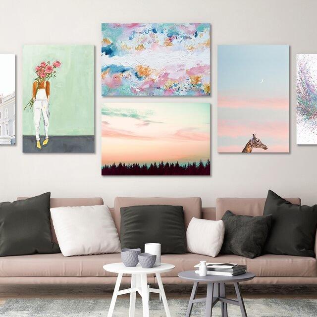 Free Shipping: Pastel Artwork
