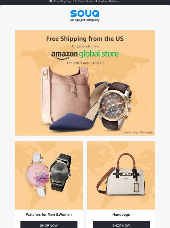 Souq: Amazon Global Store 🌎 Free Shipping ✈️* | Milled