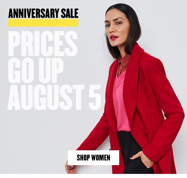 Anniversary Sale ends soon. Prices go up August 5.