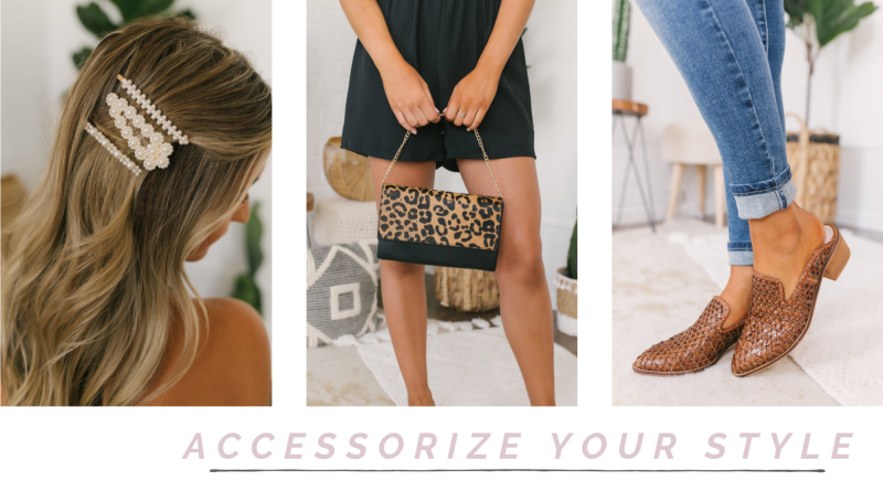 accessories woven mules
