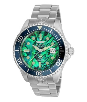 Invicta Pro Diver Mens Automatic 47mm Stainless Steel Case Dark Green Dial