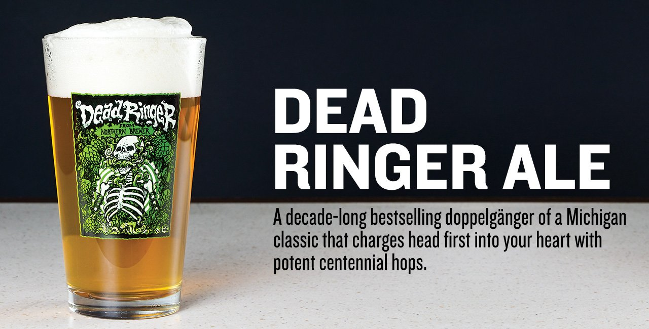 Dead Ringer® IPA Extract Beer Recipe Kit