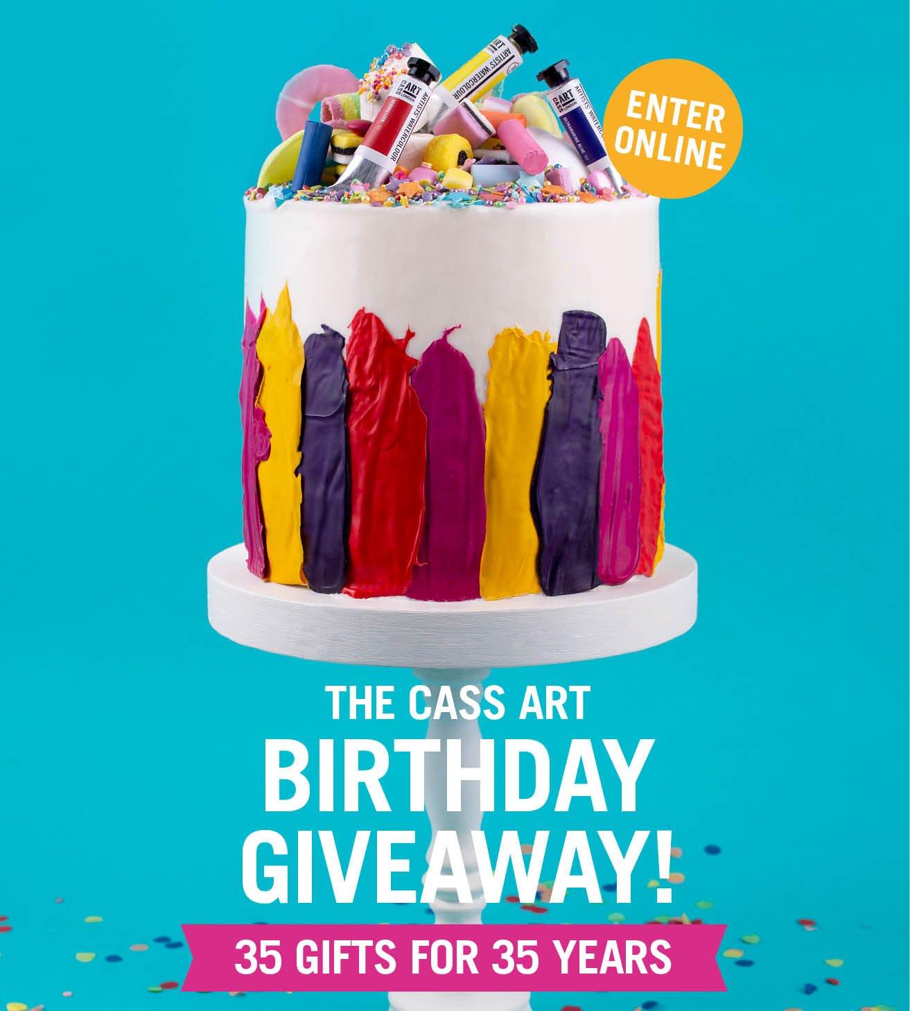 Groovy Cass Art Enter The Cass Art Birthday Giveaway Milled Funny Birthday Cards Online Hetedamsfinfo