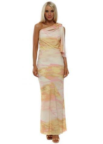 Summer Soul One Shoulder Maxi Dress