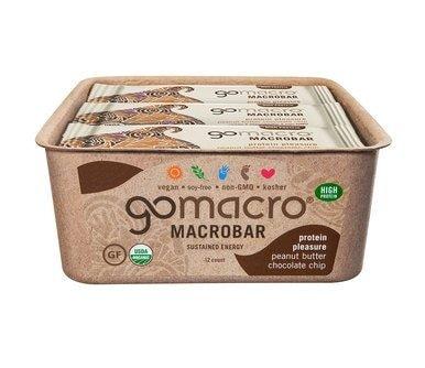 Image of Organic MacroBars Snack Bars - Case of 12