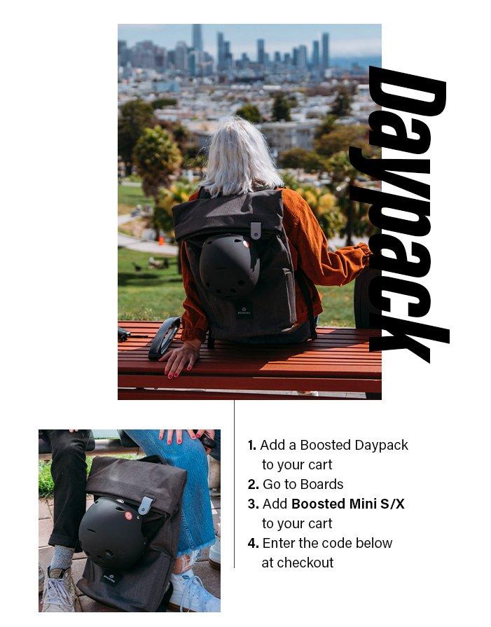 Free Daypack!