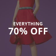 Everything 70% Off