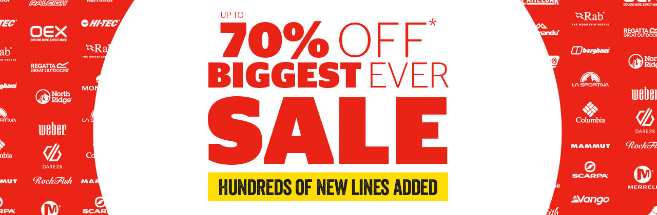 Sale - up to 70% off