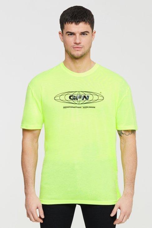 Oversized Global Neon T-shirt