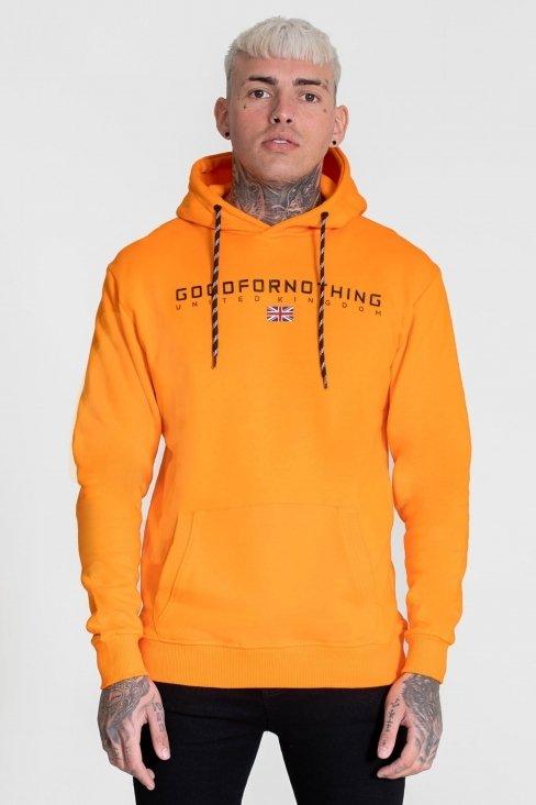 Technical Orange Hood