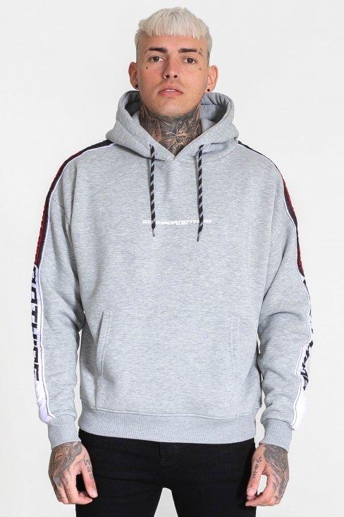 Tempo Grey Oversized Hood