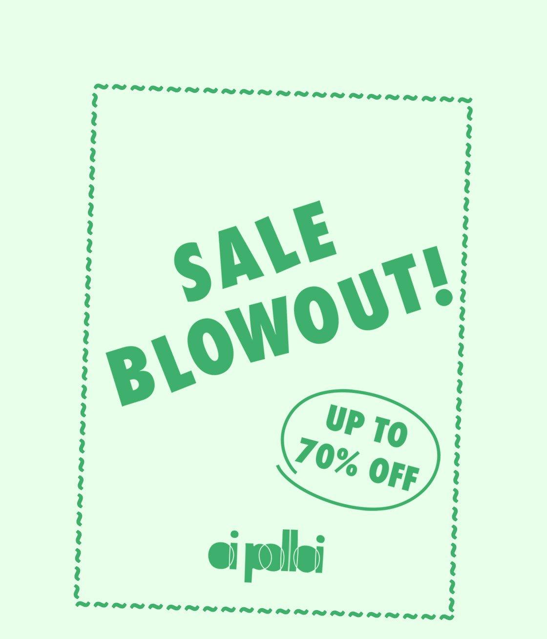 Sale Blowout