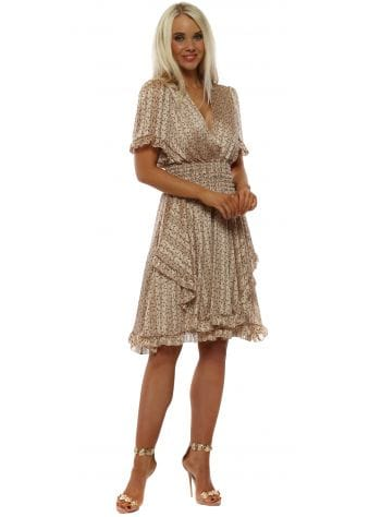 Blush Dandelion Wish Fit & Flare Dress