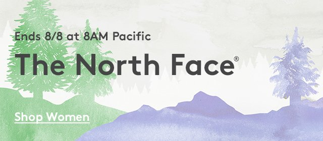 Ends 8/8 at 8AM Pacific | The North Face | Shop Women