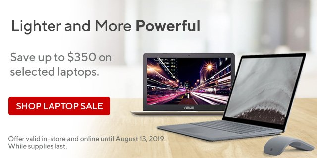 Staples Canada Don T Wait Up To 350 Off Laptops Milled