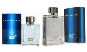 Mont Blanc Starwalker Eau de Toilette for Men (1.7 or 2.5 Fl. Oz.)