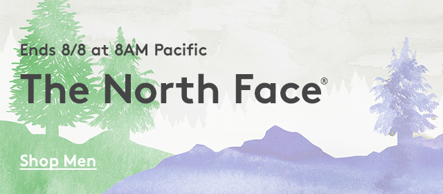 Ends 8/8 at 8AM Pacific | The North Face | Shop Men