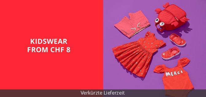 Kidswear from CHF 8