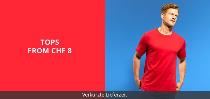 Tops from CHF 8