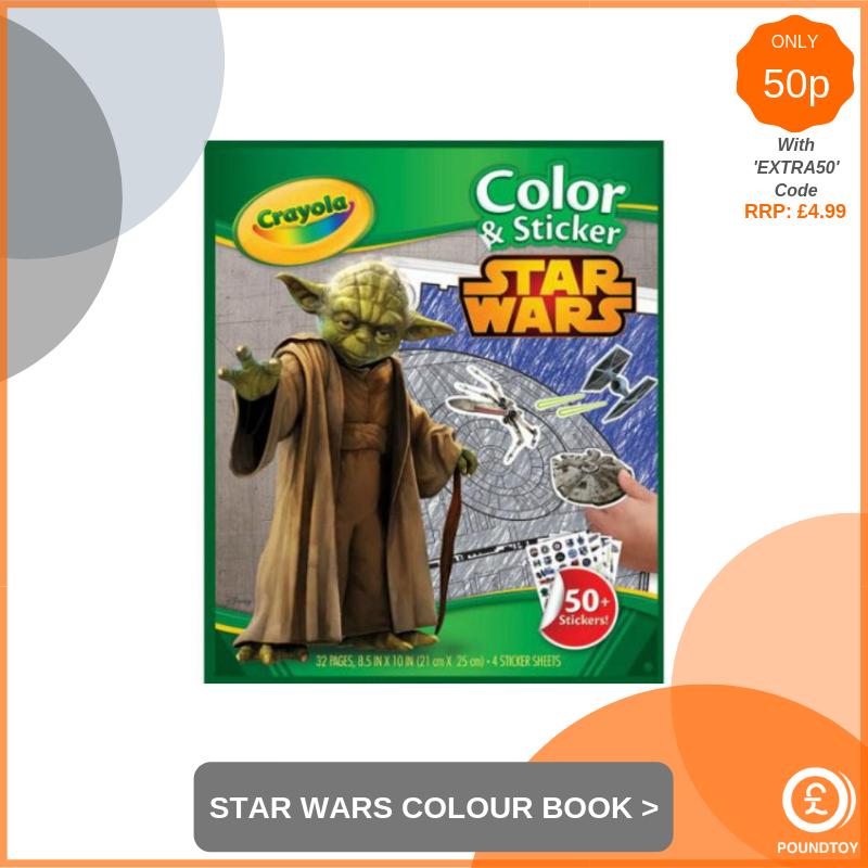 Crayola Star Wars Colour & Sticker