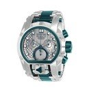 Invicta Reserve Mens Quartz 52mm Stainless Steel, Green Case Silver, Green Dial
