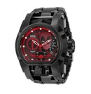 Invicta Marvel Limited Edition Deadpool  Mens Quartz 52 mm Black, Stainless Steel Case Black, Red Dial
