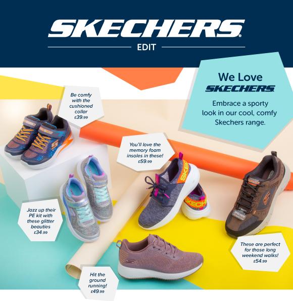 Shoe Zone: It's time to talk Skechers